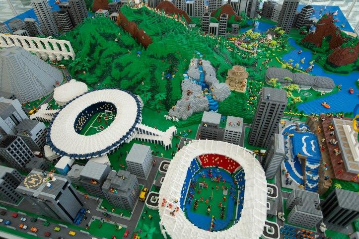 Maquete_LEGO 3D Model 1